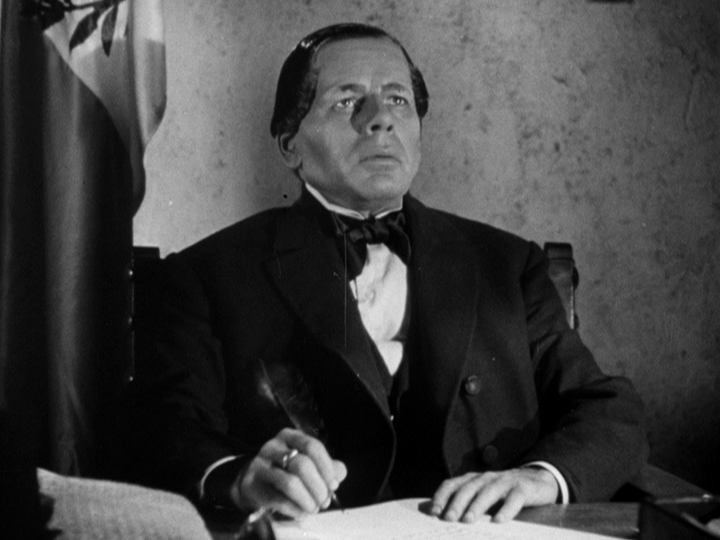 Paul Muni as Benito Juárez