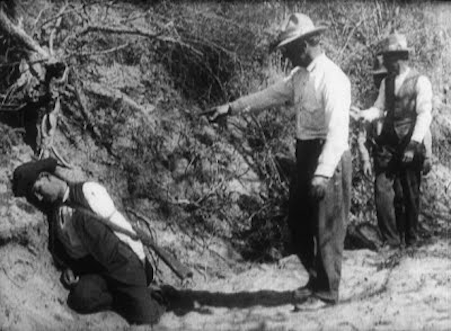 Ammunition Smuggling on the Mexican Border (1914) reveals attitudes towards Mexican-Americans at the time
