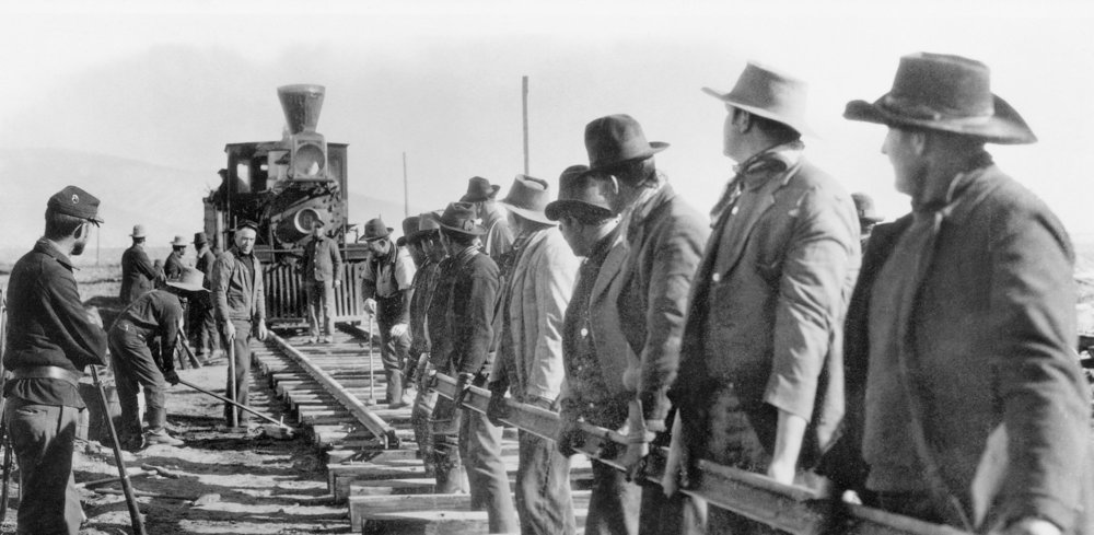 The Iron Horse is John Ford's epic about creating a transcontinental railroad