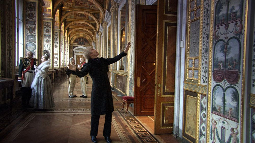 Alexander Sokurov's single-take film,    Russian Ark