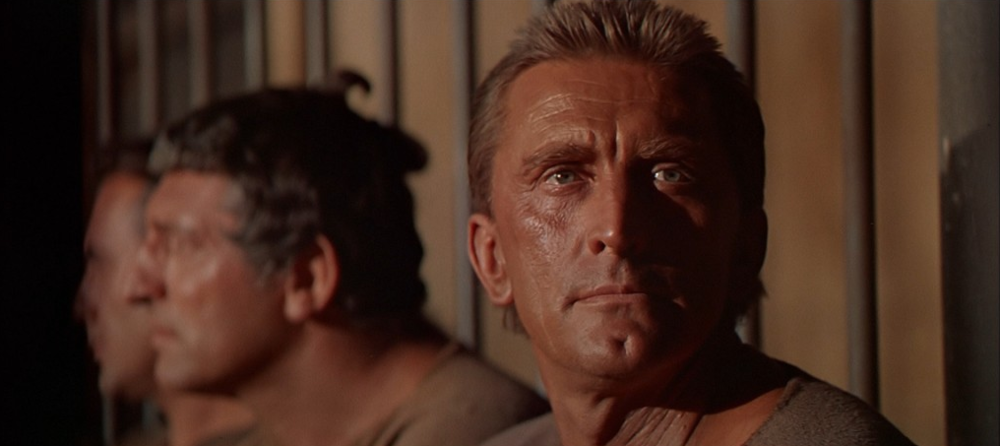 Kirk Douglas in Stanley Kubrick's Spartacus