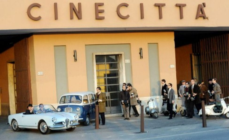 Cinecittà as portrayed in  Nine