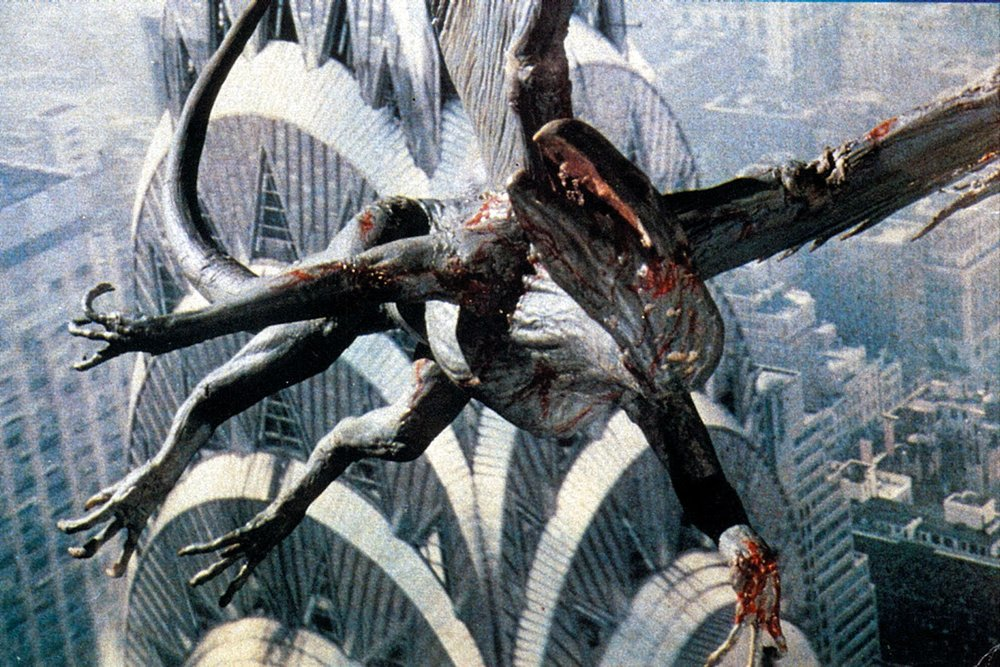 Larry Cohen's  Q: The Winged Serpent.