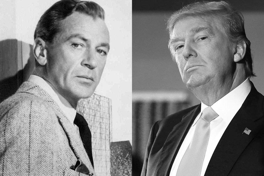 Howard Roark (left) and Donald Trump (right).