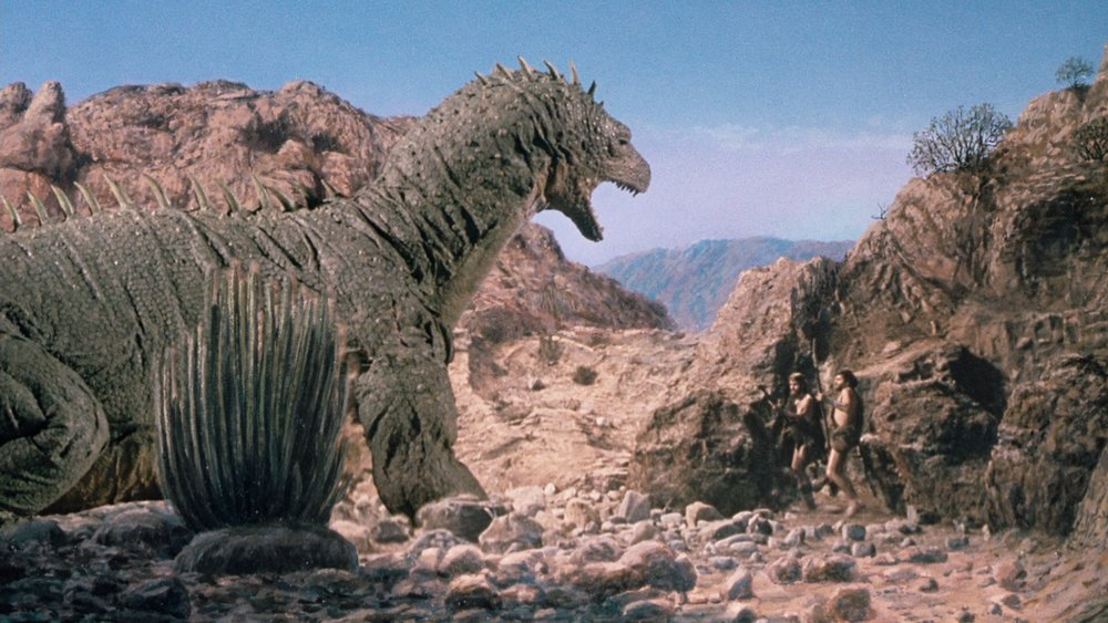 Stop-motion animator Jim Danforth received his second Oscar nomination for When Dinosaurs Ruled the Earth.