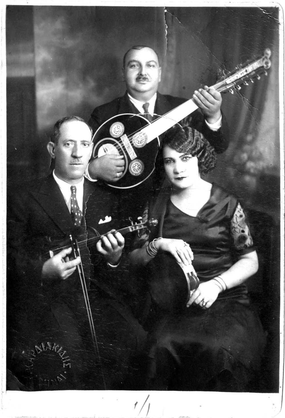 Rosa Eskenazi, legendary Jewish-Greek rebetiko singer and subject of Roy Sher's My Sweet Canary.