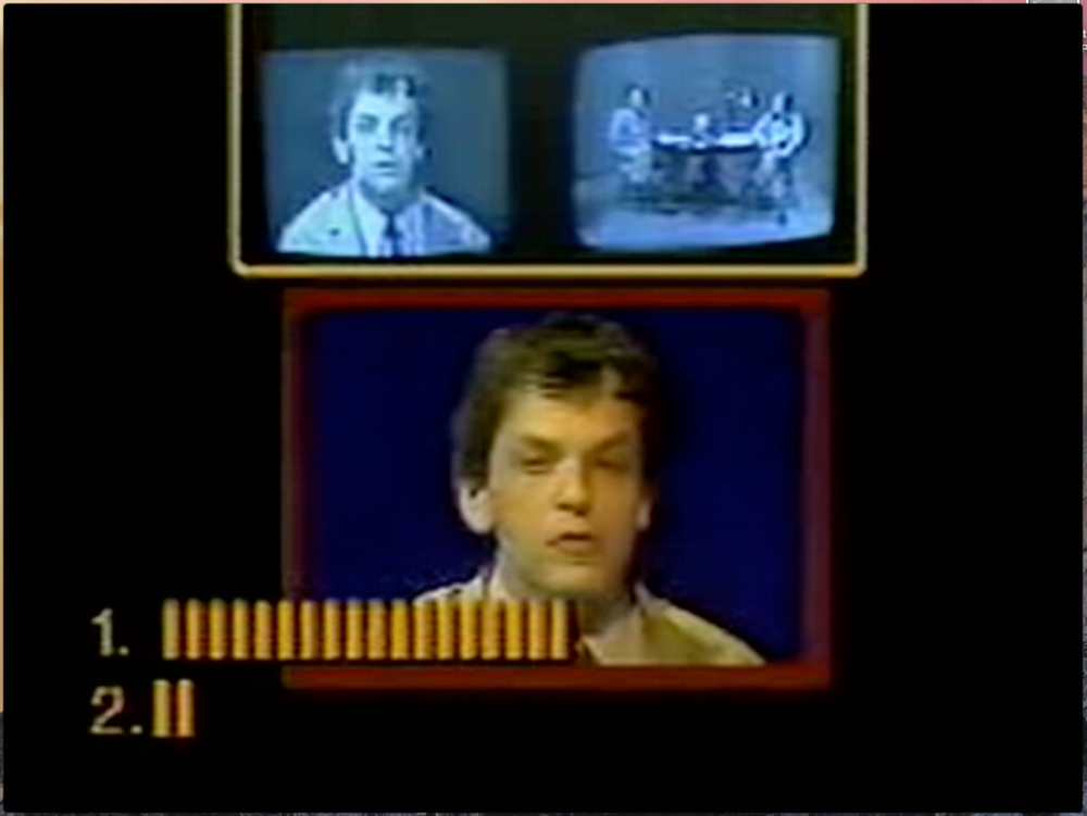 Jaime Davidovich's QUBE Project (1980).