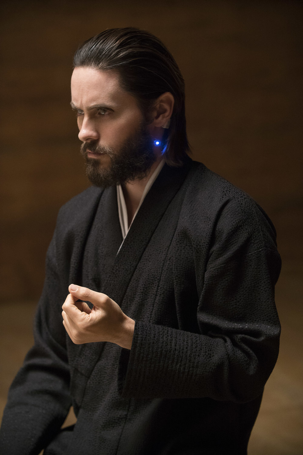Jared Leto as the enigmatic Wallace.