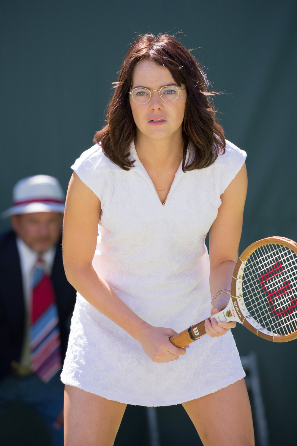 Emma Stone plays Billie Jean King.