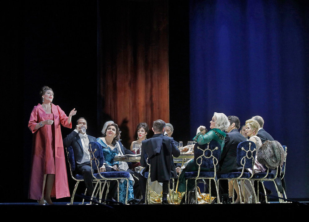 After a genteel beginning, decorum eventually breaks down among partygoers in  The Exterminating Angel .