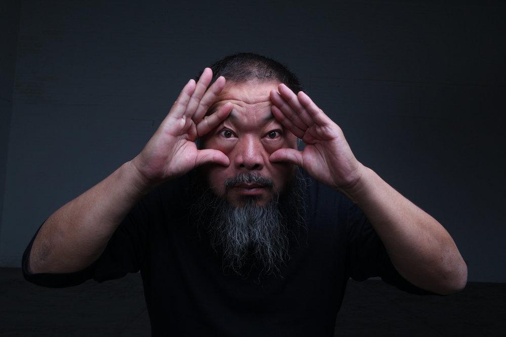 Ai Weiwei (courtesy of Ai Weiwei Studio)
