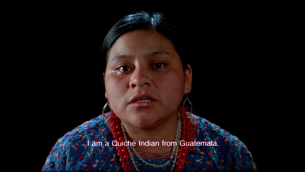 Rigoberta Menchú in  When the Mountains Tremble  (1983).
