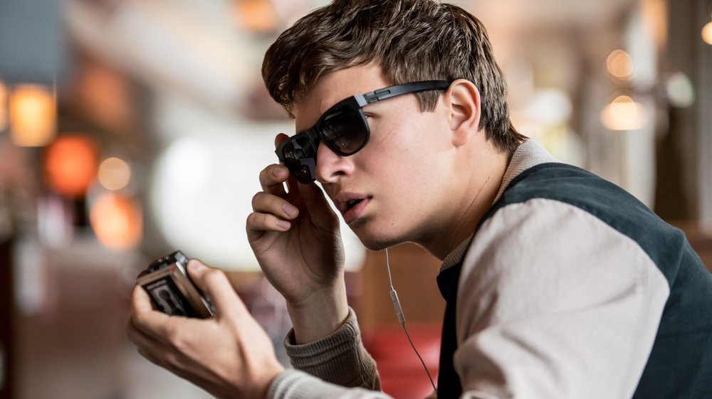 Ansel Elgort as Baby, an ace getaway driver.