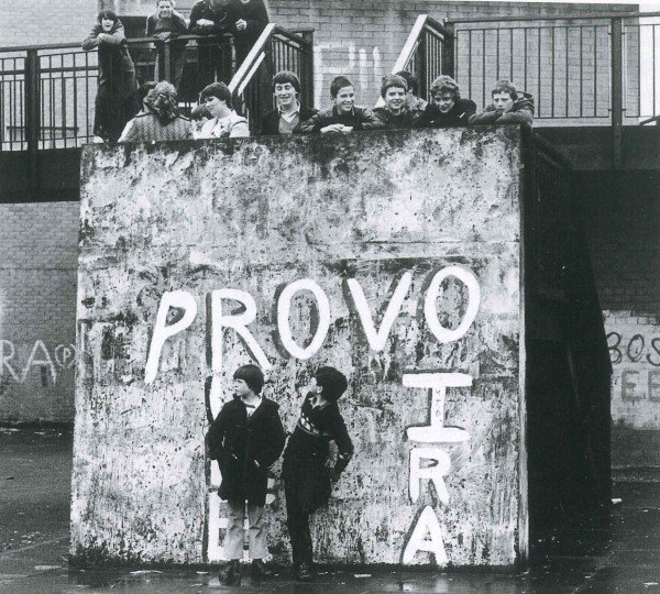 French theatre and film director Armand Gatti encourages a youth workshop in Troubles-trashed Derry to rewrite  The Writing on the Wall  (1983).