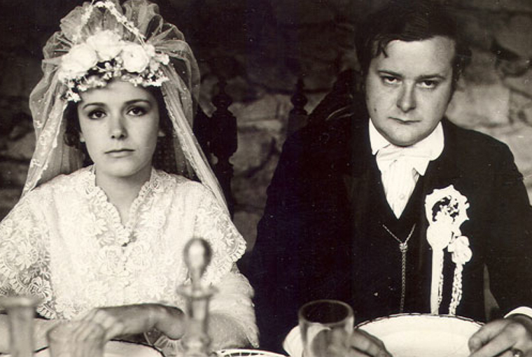 A bad start to a marriage that will only get much worse, in the Romanian classic  Stone Wedding  (1973).