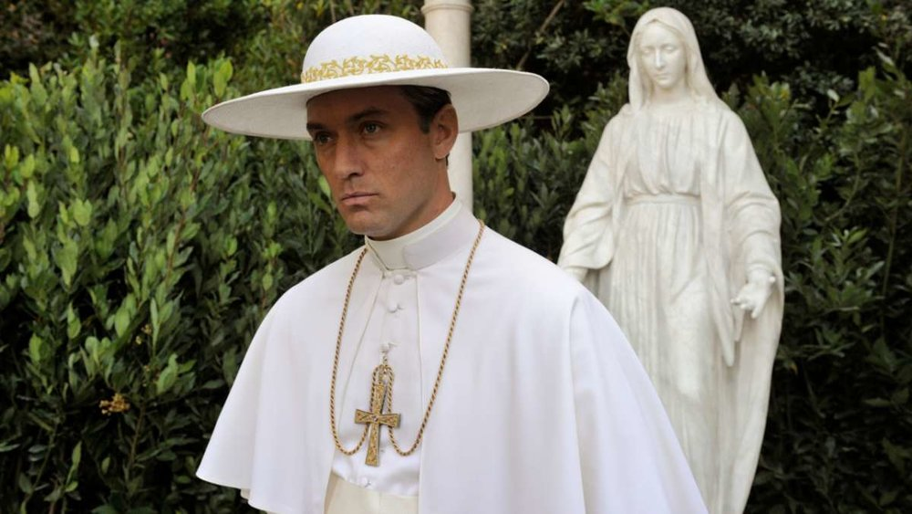 Jude Law as the Pope in  The Young Pope