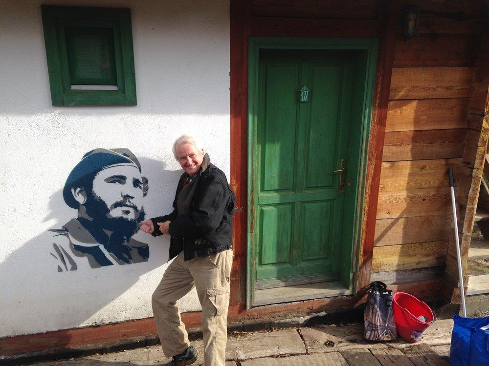 Andy & Che                         Guevara.JPG