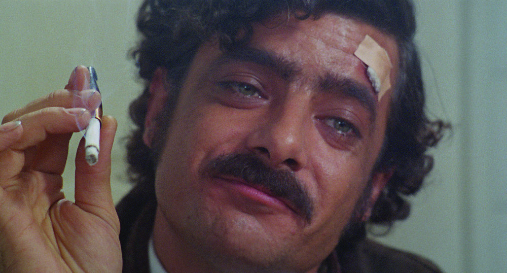 "Giancarlo Giannini stars as metalworker Carmelo Mardocheo, aka ""Mimi,"" in Lina Wermüller's   The Seduction of Mimi  (1972)."