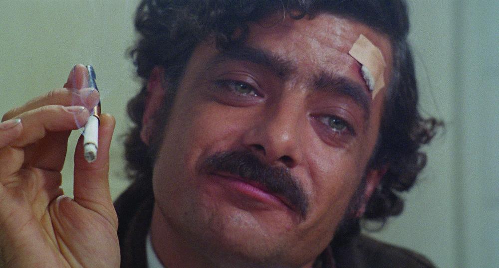 "Giancarlo Giannini stars as metalworker Carmelo Mardocheo, aka ""Mimi,"" in Lina Wermüller's  The Seduction of Mimi  (1972)."