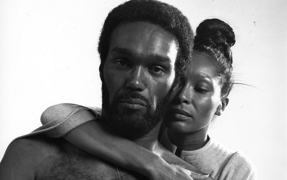 Duane Jones and Marlena Clark as the title characters in Bill Gunn's offbeat horror film,  Ganja & Hess  (1973), which Kino Classics has remastered in a Blu-ray edition and in 2018 also re-released theatrically throughout the U.S.