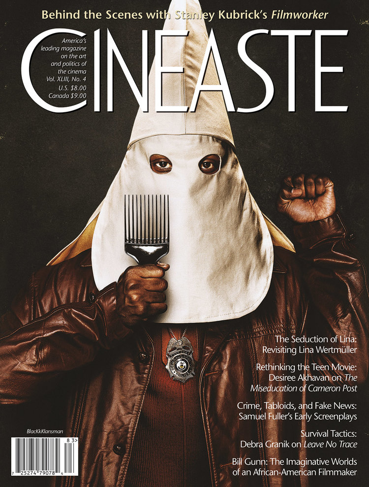 Cineaste - Fall 2018 Cover