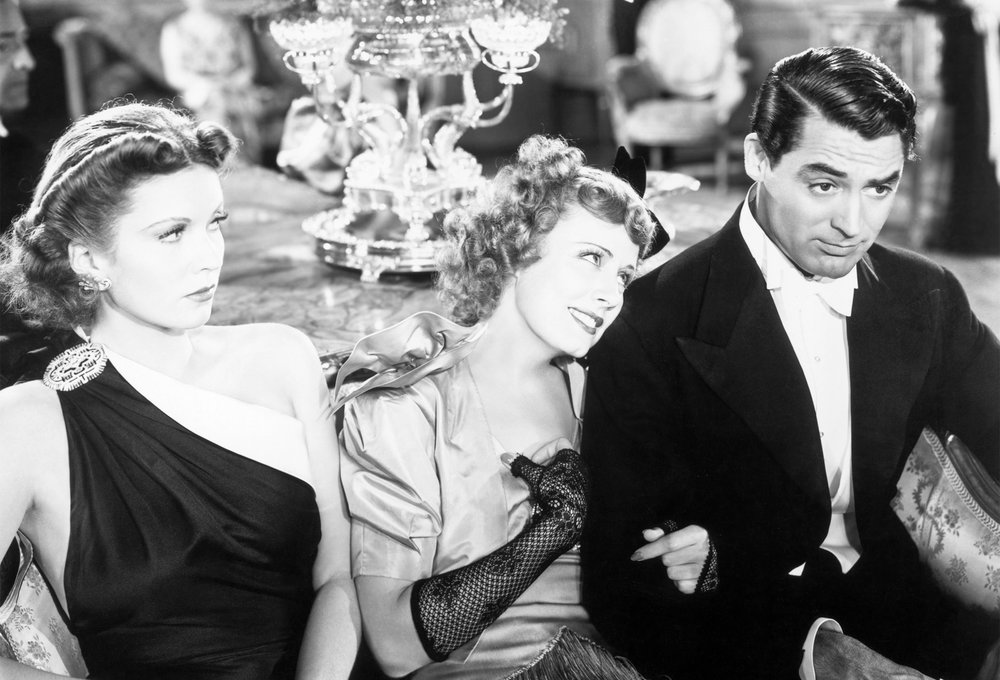 True romance can't be denied: Jerry (Cary Grant) and Lucy (Irene Dunne) reconcile just in time at the conclusion of McCarey's  The Awful Truth.