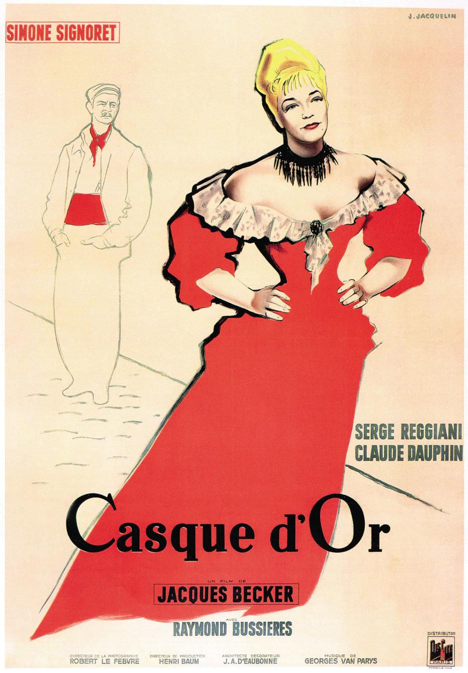 Original poster of  Casque d'Or  (1952).