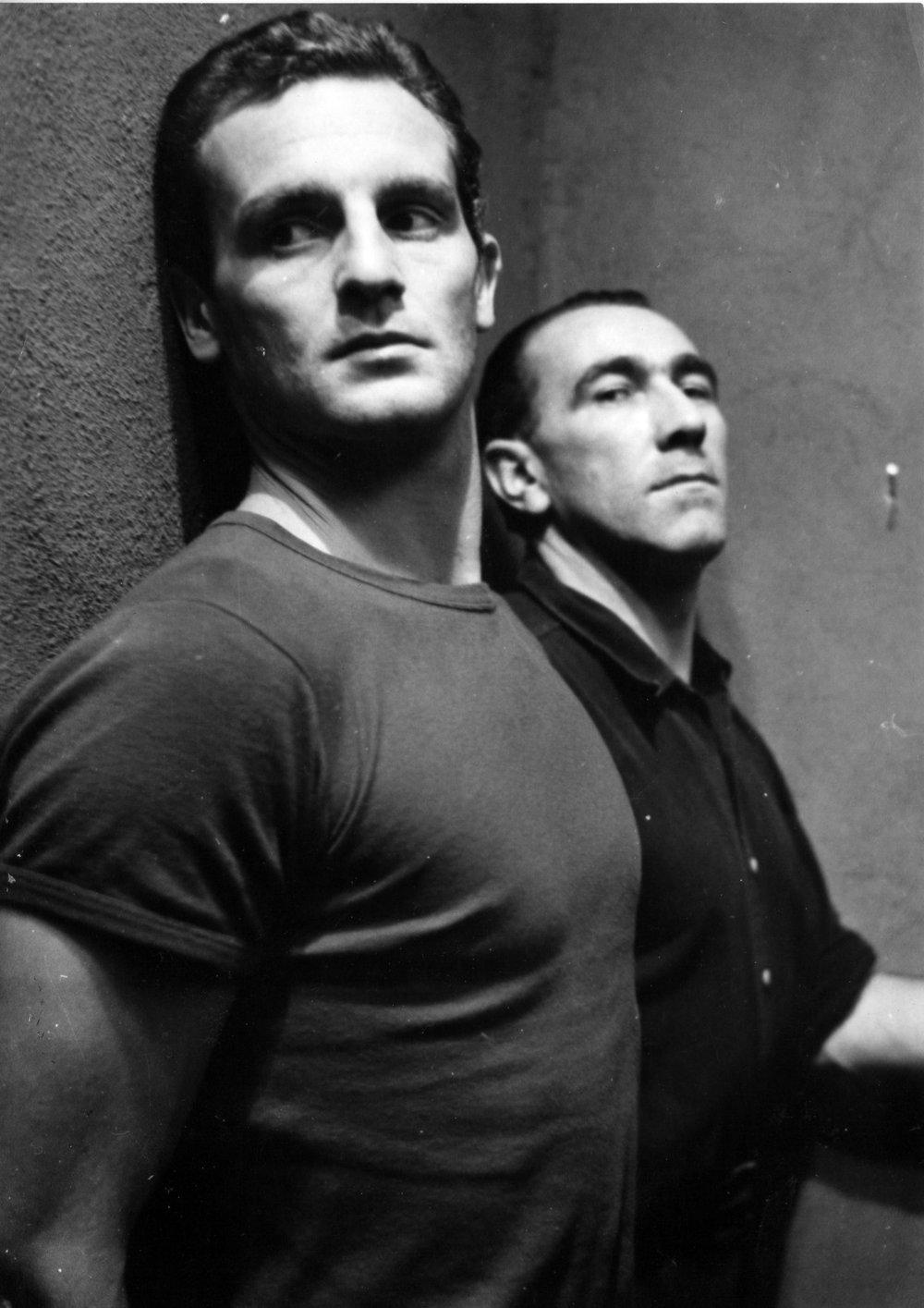 Attempted prison escape in  Le Trou  (1960).