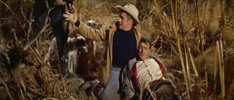 Wade and Rafe after the hunt.