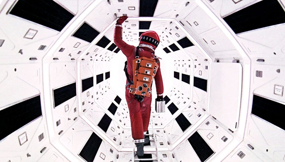 One of the many iconic images in Stanley Kubrick's masterpiece.