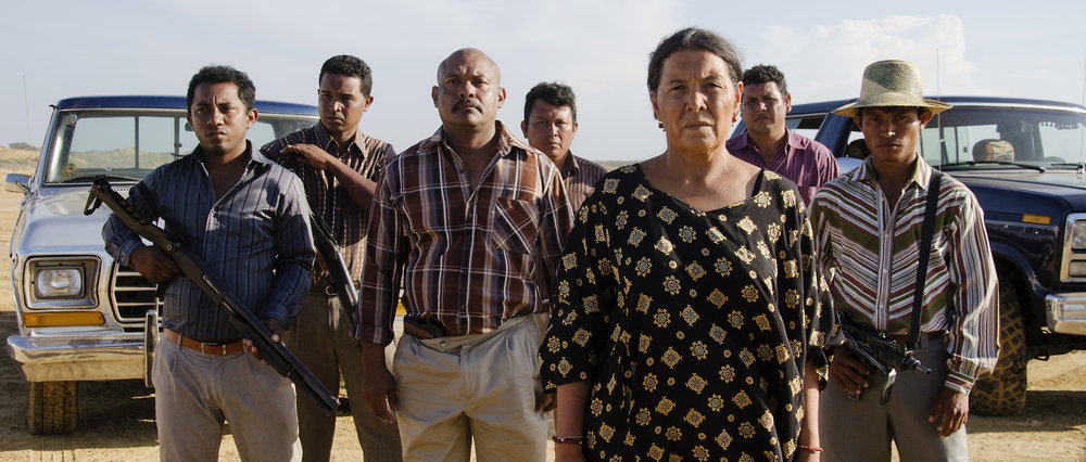 The Clan is armed and dangerous in  Birds of Passage .