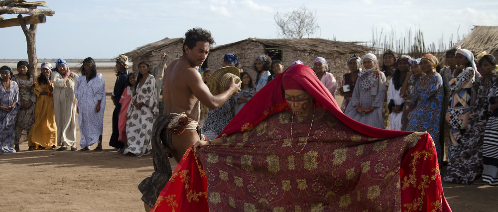 Female rituals are foregrounded in  Birds of Passage.