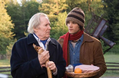 Thomas Kinkade's straight-to-DVD  The Christmas Cottage , with Peter O'Toole and   Jared Padalecki.