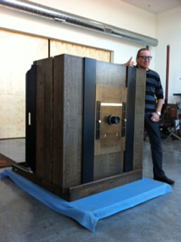 thomas gibson studio custom 40 x 40 collodion wet plate camera