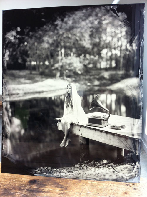 flight thomas gibson studio collodion wet plate