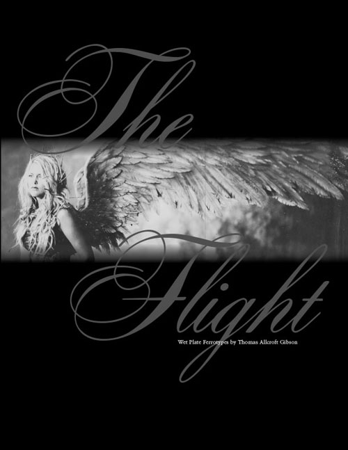 the flight promotional thomas allcroft gibson collodion wet plate art