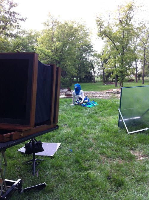 behind the scenes the flight collodion wet plate shoot