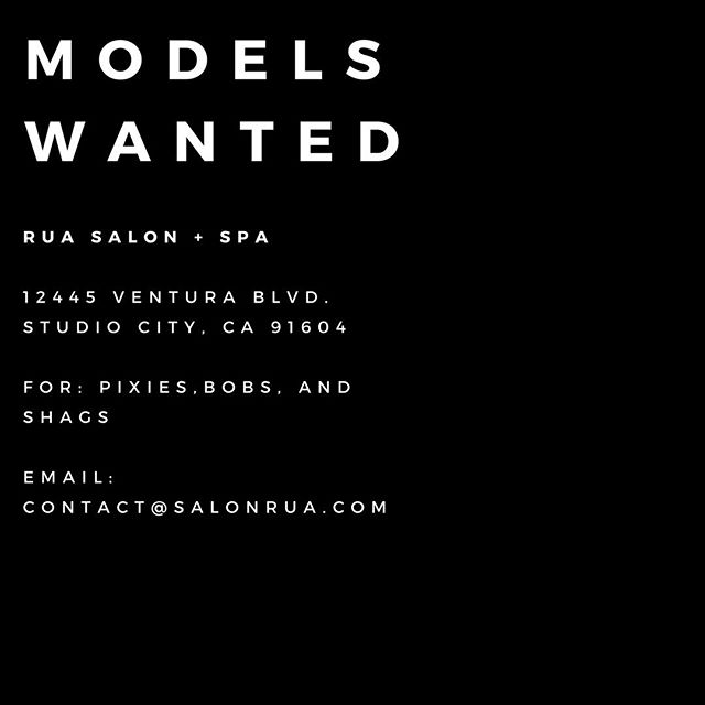 DM us for DETAILS!