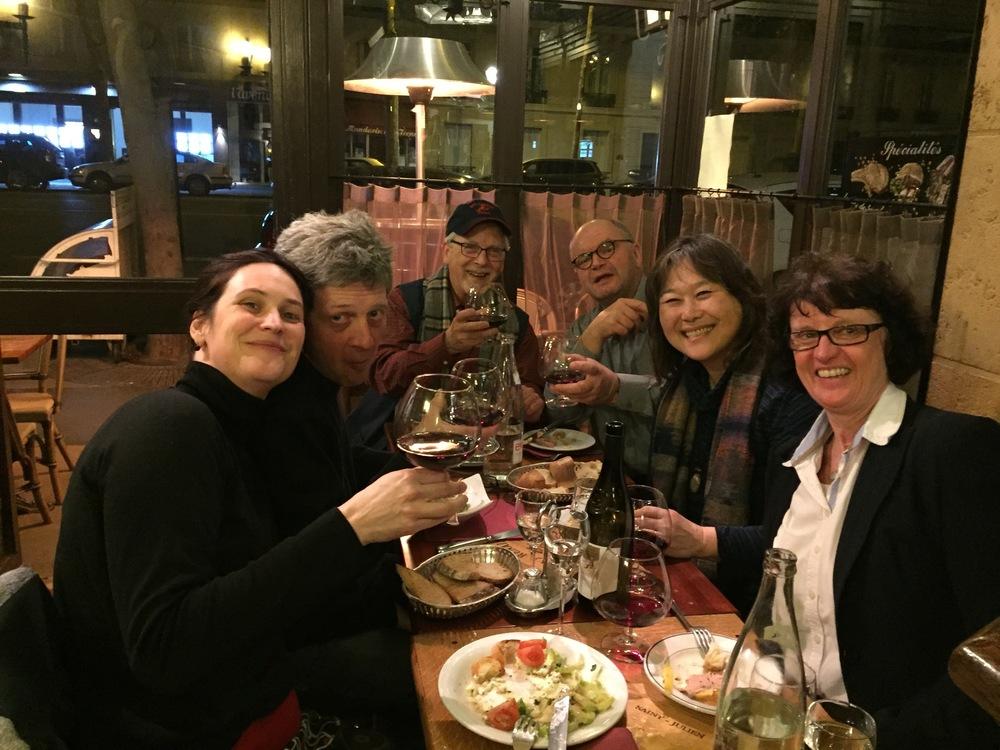 Edith, Ralf, Me, Uwe, Kazue, Judith