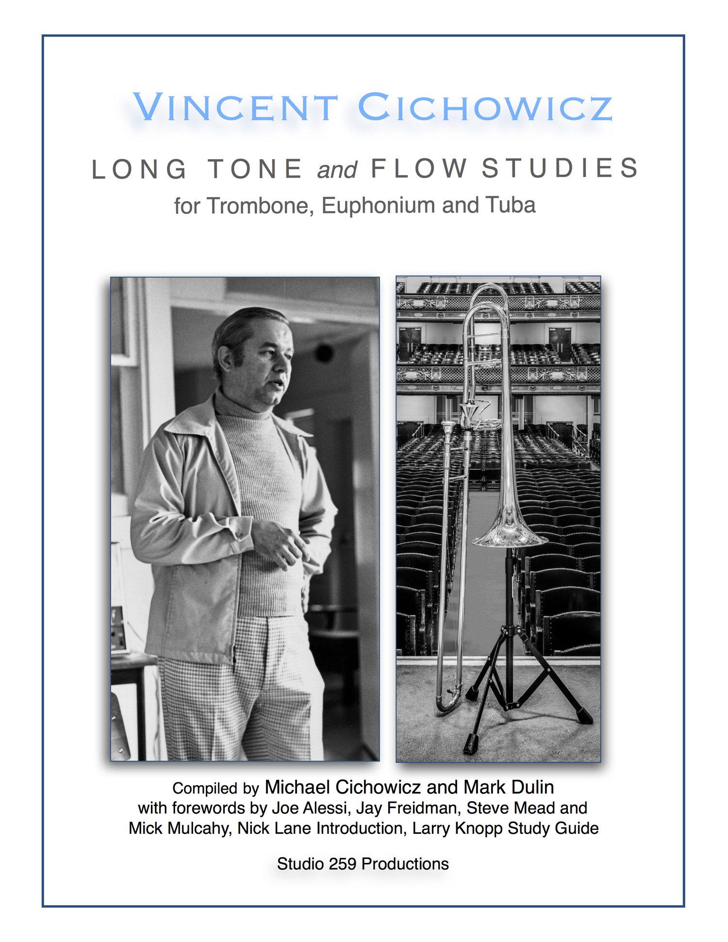 Long Tones and Flow Studies for Trombone, Euphonium and Tuba (Cichowicz) —  Balquhidder Music