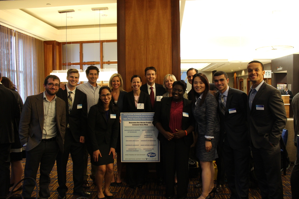 HBA Leadership and all Pfizer Judges