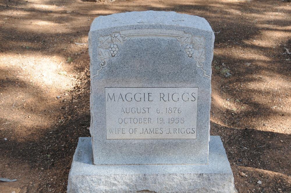 """1d MARGAET """"MAGGIE"""" (DUMM) RIGGS"""