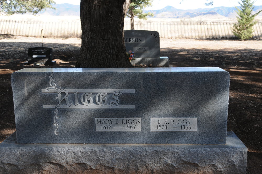 "3d BARNEY KEMP ""B.K."" & MARY (MURPHY) RIGGS"