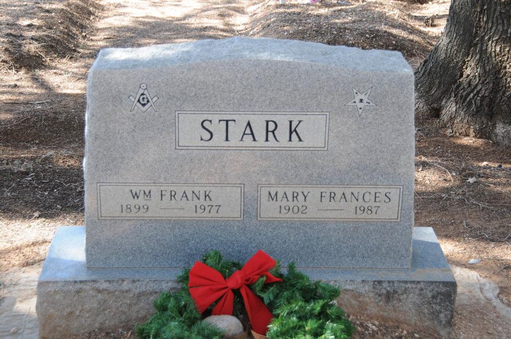 4h WILLIAM F. & MARY F. (RIGGS) STARK