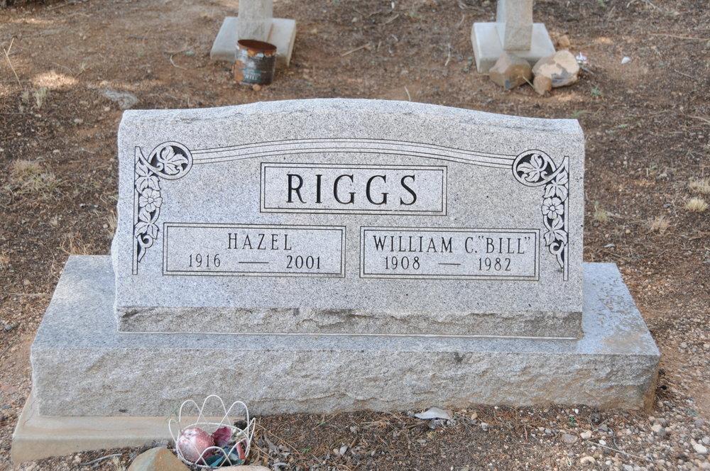 "4n WILLIAM ""BILL"" & HAZEL (CORCORAN) RIGGS"