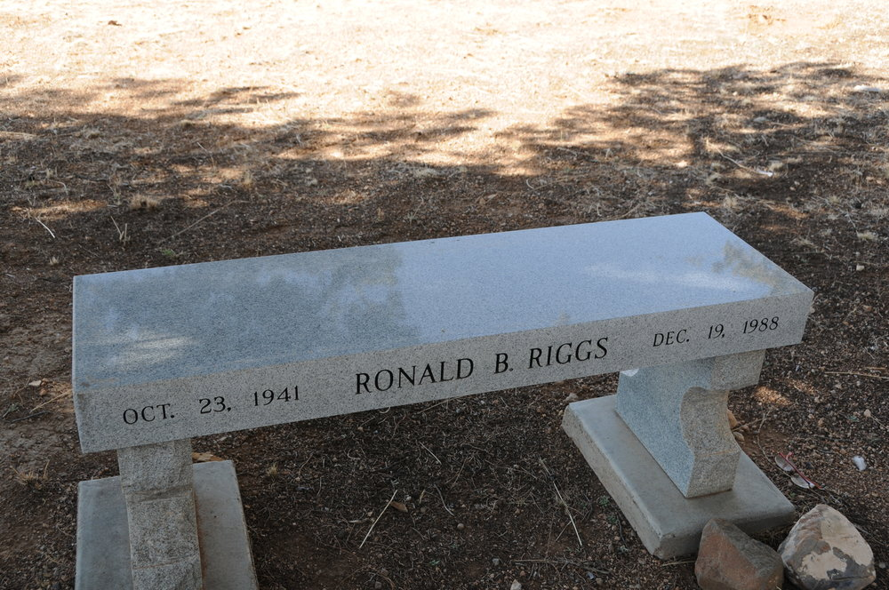 4o RONALD BRUCE RIGGS