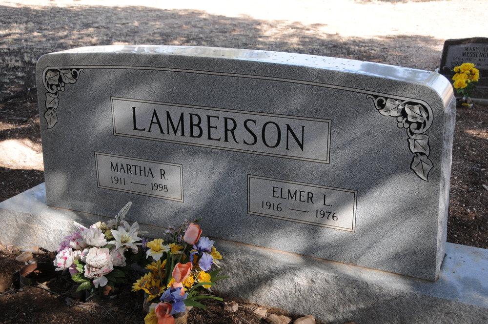 5b MARTHA (RIGGS) & ELMER L. LAMBERSON