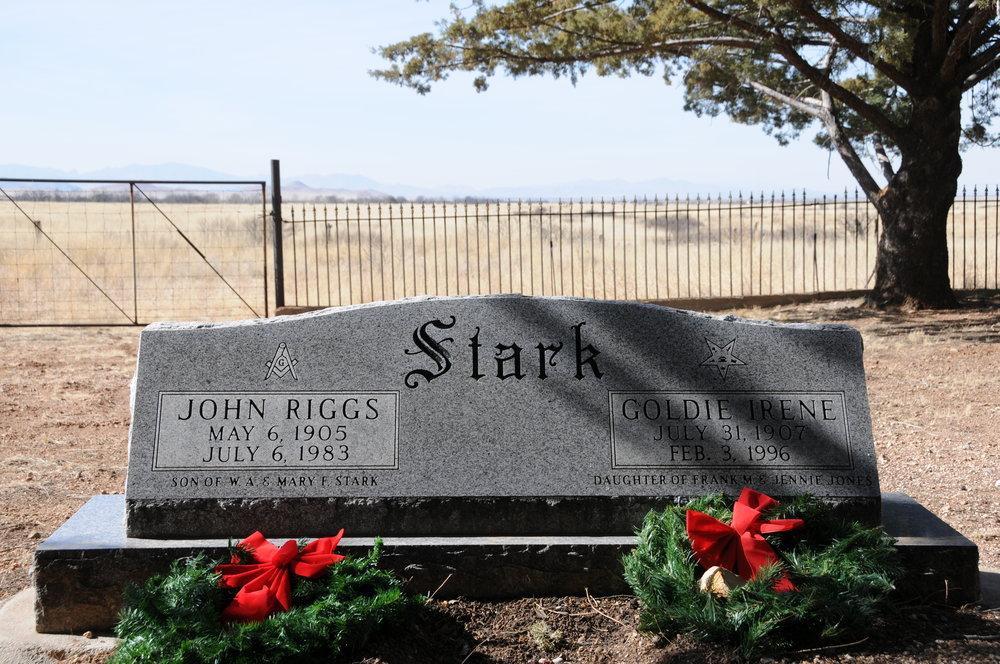 6e JOHN RIGGS & GOLDIE (JONES) STARK