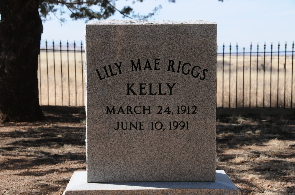 8b LILY MAE (RIGGS) KELLY