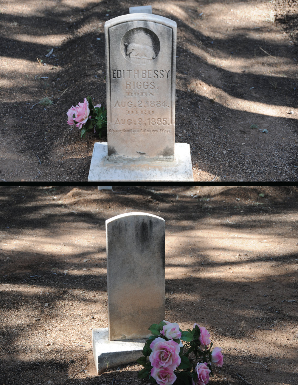 Edith Bessie Riggs headstone.jpg